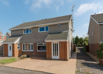 Thumbnail 2 bedroom semi-detached house for sale in Baberton Mains Park, Baberton