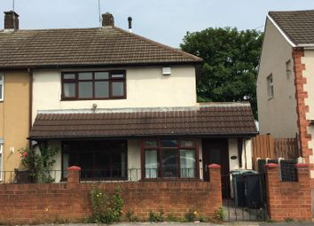 Thumbnail 2 bed semi-detached house to rent in Popular Avenue, Bentley, Walsall