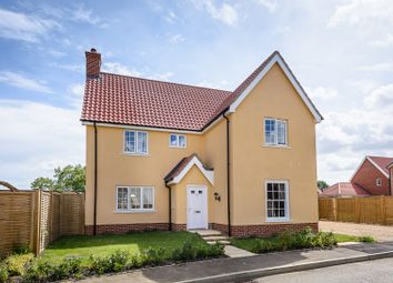 Thumbnail 4 bed detached house for sale in Broomefield Road, Stoke Holy Cross, Norwich