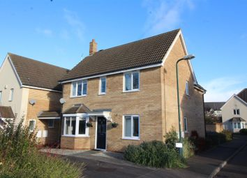 Thumbnail 4 bed detached house for sale in Standish Court, Peterborough