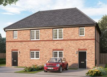 "Thumbnail 3 bed semi-detached house for sale in ""The Queensbridge"" at Burton Street, Market Harborough"