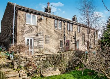 Thumbnail 3 bed end terrace house for sale in Mill Moor Road, Meltham, Holmfirth