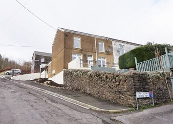 Thumbnail 3 bed end terrace house for sale in Teify Crescent, Nantymoel, Bridgend, Bridgend County.