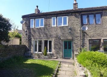 Thumbnail 2 bedroom end terrace house for sale in New Hey Road, Outlane, Huddersfield