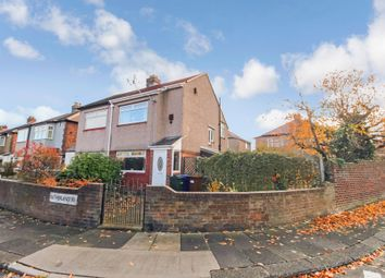 Thumbnail 2 bed semi-detached house for sale in Sutherland Avenue, Fenham, Newcastle Upon Tyne