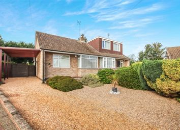 Thumbnail 2 bed semi-detached bungalow for sale in Pie Corner, Sywell, Northampton