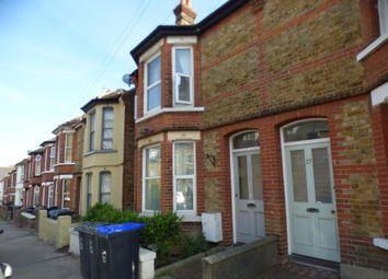 Thumbnail 3 bed flat to rent in Lillian Road, Ramsgate