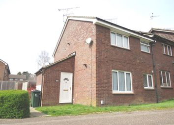 Thumbnail 1 bed end terrace house to rent in Southbrook, Pease Pottage, Crawley