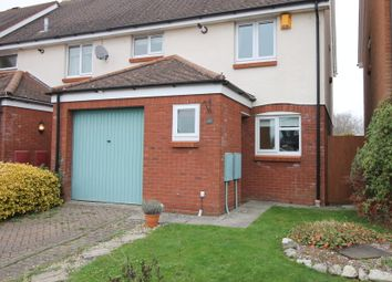 Thumbnail 3 bed semi-detached house to rent in Waterside Drive, Donnington, Chichester
