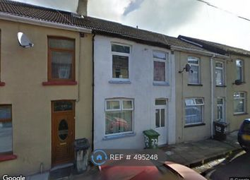 Thumbnail 3 bedroom terraced house to rent in Woodfield Terrace, Mountain Ash