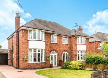 Thumbnail 4 bed semi-detached house for sale in Kingsley Close, Stafford