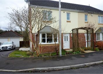 Thumbnail 3 bed semi-detached house for sale in Parc Fferws, Ammanford