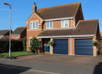 Thumbnail 4 bedroom detached house for sale in Harvester Way, Crowland, Peterborough