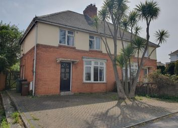 Thumbnail 3 bedroom semi-detached house for sale in Devon Road, Weymouth