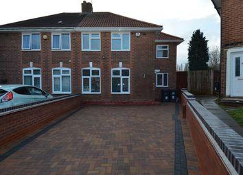 Thumbnail 3 bed semi-detached house for sale in Effingham Road, Billesley, Birmingham