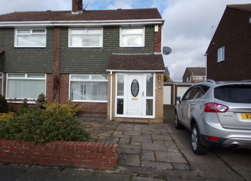 Thumbnail 3 bed semi-detached house for sale in Shearwater Way, Blyth