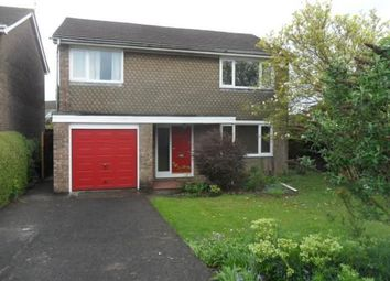 Thumbnail 4 bed detached house to rent in Johnston Close, Rogerstone, Newport