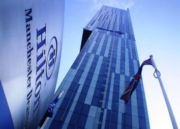 Thumbnail 1 bed flat to rent in Beetham Tower, 301 Deansgate, Manchester City Centre, Manchester, Greater Manchester