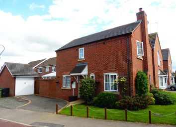 Thumbnail 3 bed detached house for sale in Dunnock Lane, Grange Park, Northampton