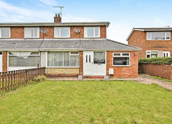 Thumbnail 3 bed semi-detached house for sale in Angus, Ouston, Chester Le Street