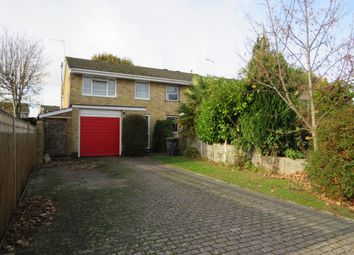 Thumbnail 3 bed semi-detached house for sale in Chichester Close, Hedge End, Southampton