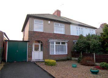 Thumbnail 3 bedroom semi-detached house for sale in Hallfieldgate Lane, Shirland, Alfreton