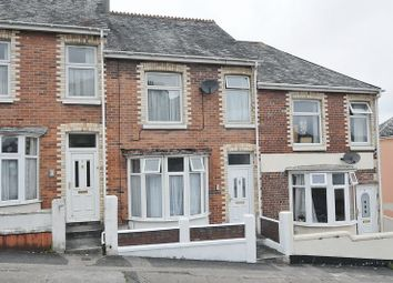 Thumbnail 3 bed terraced house for sale in Prince Maurice Road, Mutley, Plymouth