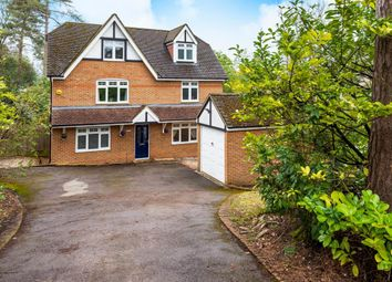 Thumbnail 5 bed detached house to rent in Belton Road, Camberley