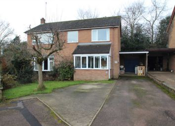 Thumbnail 4 bed detached house for sale in Hunters Close, Blofield, Norwich