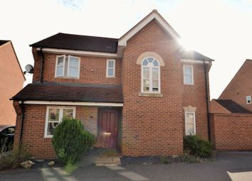 Thumbnail 4 bed detached house for sale in Brantwood Close, Westcroft, Milton Keynes