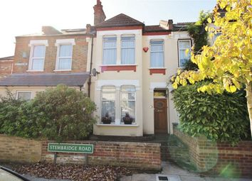Thumbnail 2 bed terraced house for sale in Stembridge Road, Anerley, London