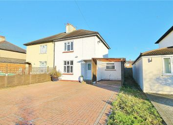 Thumbnail 3 bed semi-detached house for sale in Laytons Lane, Sunbury-On-Thames, Surrey