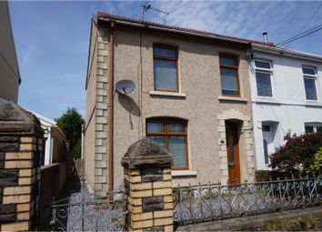 Thumbnail 2 bed semi-detached house for sale in Corporation Road, Loughor