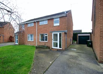 Thumbnail 3 bed semi-detached house to rent in Plantation Crescent, Bredon, Tewkesbury