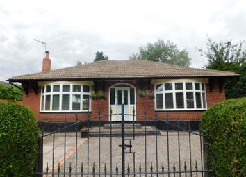 Thumbnail 3 bedroom detached bungalow for sale in Newcastle Road, Hough, Crewe