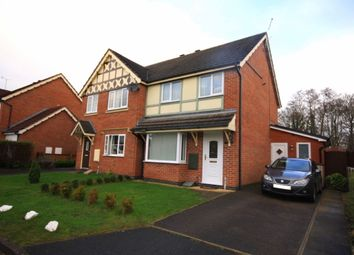 Thumbnail 3 bed semi-detached house for sale in Flowerscroft, Stapeley, Nantwich