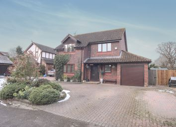 Thumbnail 4 bed detached house for sale in Elm Lane, Lower Earley, Reading