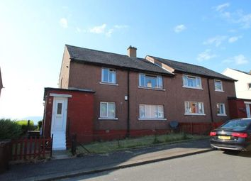 Thumbnail 2 bed flat for sale in Glamis Drive, Greenock, Inverclyde