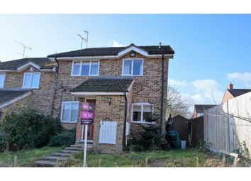 Thumbnail 2 bed end terrace house for sale in Suffolk Close, Wokingham