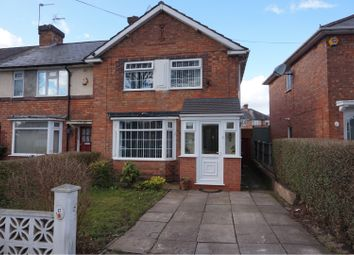 Thumbnail 3 bed end terrace house for sale in Carshalton Road, Kingstanding, Birmingham