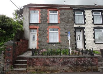 Thumbnail 2 bed end terrace house to rent in Cilfynydd Road, Cilfynydd, Pontypridd