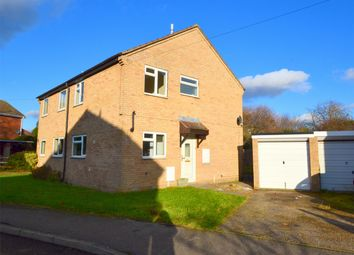 Thumbnail 3 bed semi-detached house for sale in Manor Gardens, Buckden, St Neots, Cambridgeshire