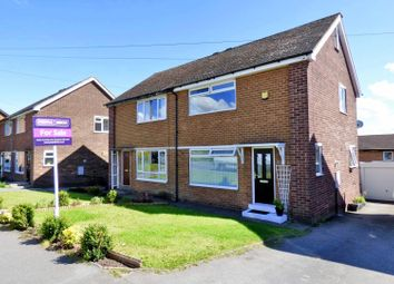 Thumbnail 3 bed semi-detached house for sale in Langdale Road, Woodlesford