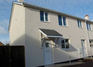 Thumbnail 3 bed end terrace house to rent in Exeter Road, Cullompton