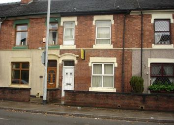 Thumbnail 1 bed flat to rent in London Road, Newcastle-Under-Lyme, Staffordshire