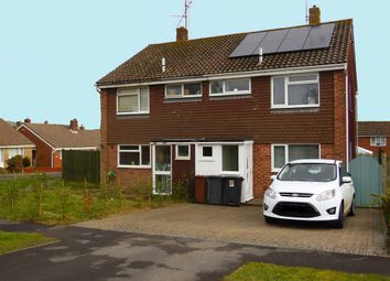 Thumbnail 3 bed semi-detached house for sale in Grange Close, Horam, Heathfield