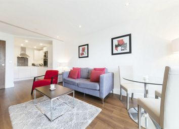 Thumbnail 1 bed flat for sale in Talisman Tower, 6 Lincoln Plaza, London
