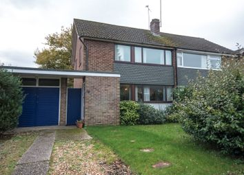 Thumbnail 3 bedroom semi-detached house for sale in The Crescent, Mortimer