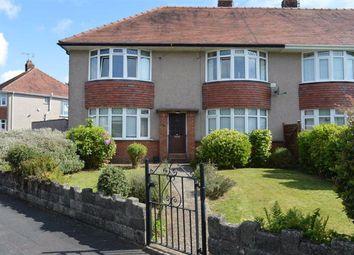 Thumbnail 2 bed flat for sale in Wimmerfield Avenue, Killay, Swansea