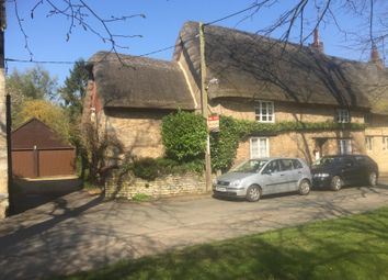 Thumbnail 3 bed cottage for sale in Barnwell, Peterborough